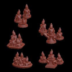 Świeczniki mały (15 sztuki)