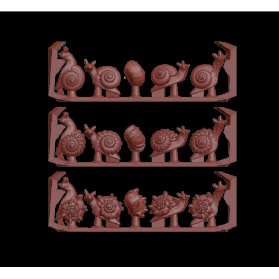 Ślimaki (15 sztuk)