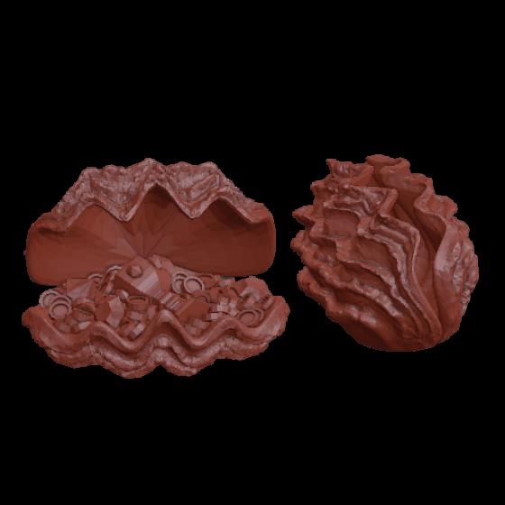 Małż ze skarbami (2 sztuki)