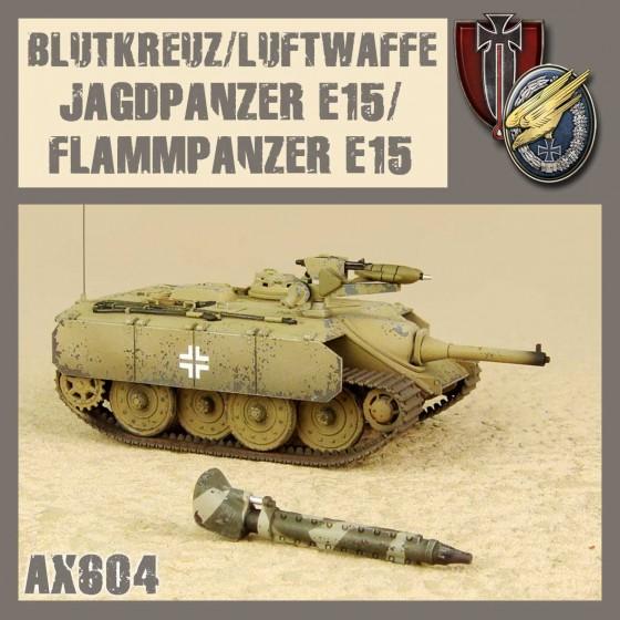 AX604 E15 JAGDPANZER/FLAMMPANZER