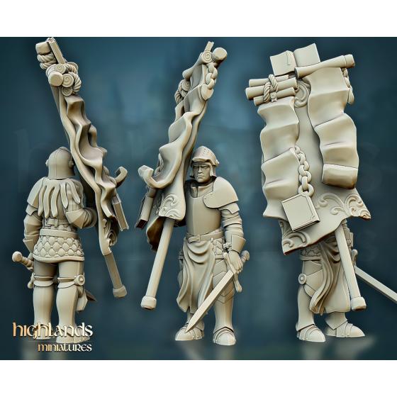 Questing Knight Banner - Rycerz Sztandarowy