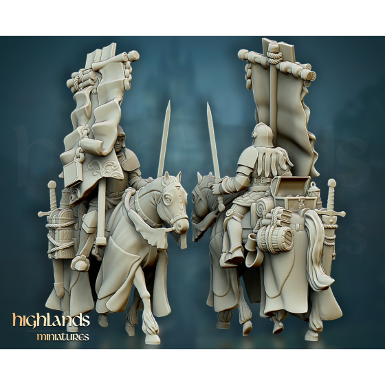 Questing Knight Mounted Banner - Rycerz Konny Sztandarowy