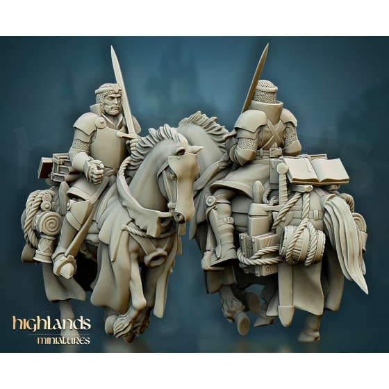 Questing Knight Mounted Captain - Rycerz Konny Kapitan
