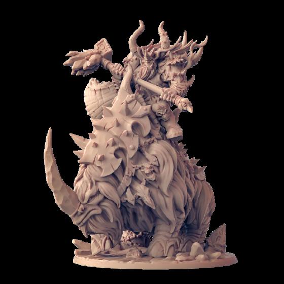 Orczy Wódz na Bestii - Gothrak Doomfist