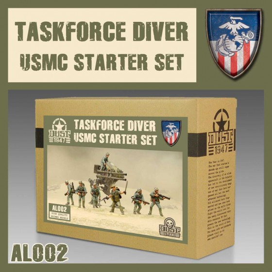 AL002 Taskforce Diver Starter Set