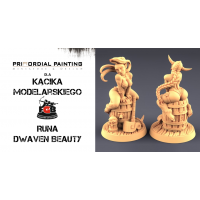 Kącik Modelarski: Non Metalic Metal NMM - Część 4 Runa od Primordial Painting