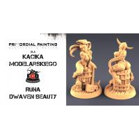 Kącik Modelarski: Rzeźbienie podstawek z mas modelarskich - Część 3 Runa od Primordial Painting