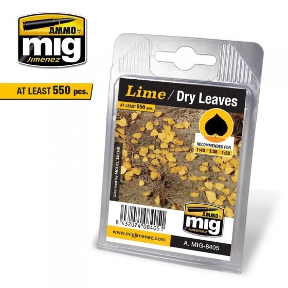 MIG - Posypka liście / Lime Dry Leaves