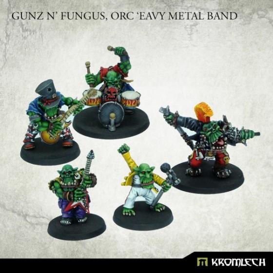Gunz N' Fungus, Orc 'Eavy Metal Band