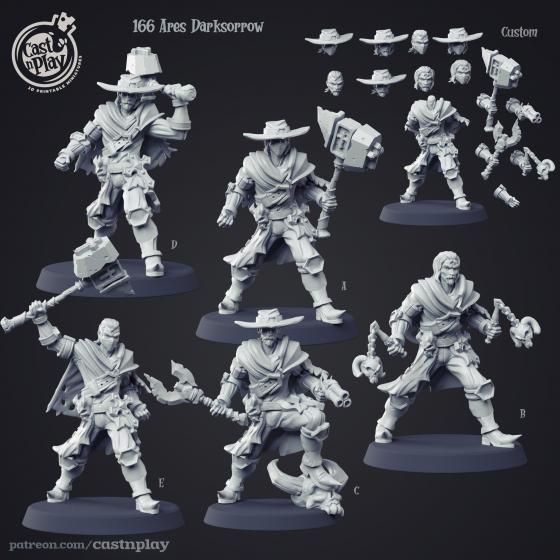 Ares Darksorrow - Łowcy Demonów (1 model)