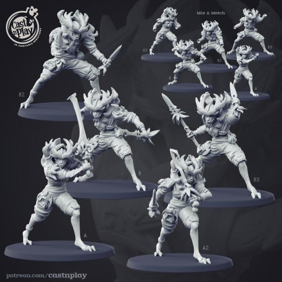 Forest Warrior - Leśni Wojownicy (1 model)