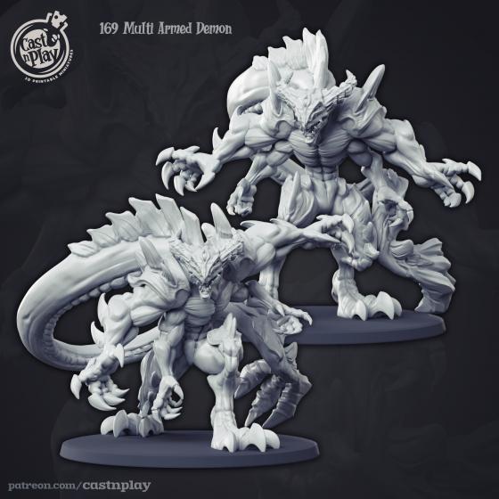Multi Armed Demon - Demoniczna Bestia (1 model)