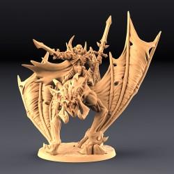 Drakenmir on Bloodhunter Dire Bat
