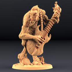 Gunlutt the Troll Guitarist