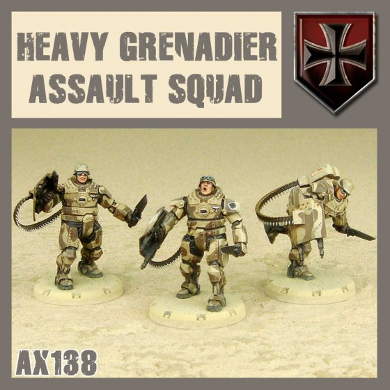 AX-138 HEAVY GRENADIER ASSAULT SQUAD