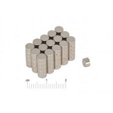 Magnesy Neodymowe 5x2mm (10 sztuk)