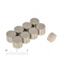 Magnesy Neodymowe 9,5x1mm (10 sztuk)