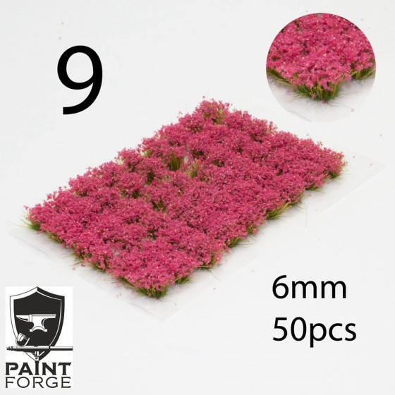 Paint Forge - Moon Aster Flowers
