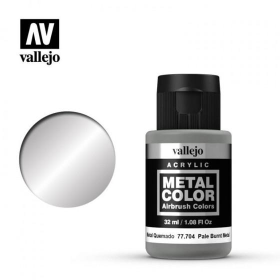 77.704 Pale Burnt Metal Vallejo Metal Color