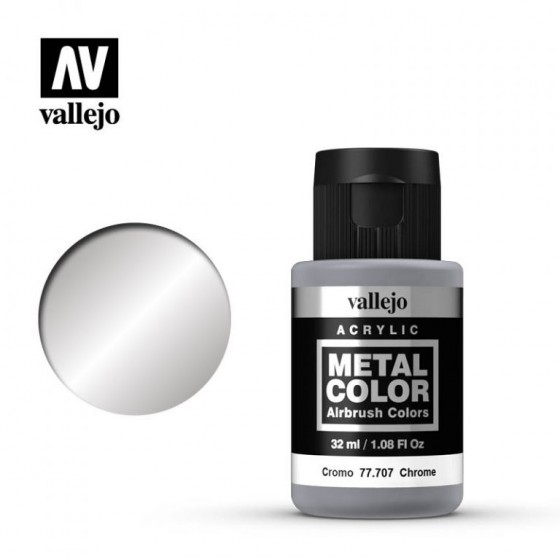 77.707 Chrome Vallejo Metal Color