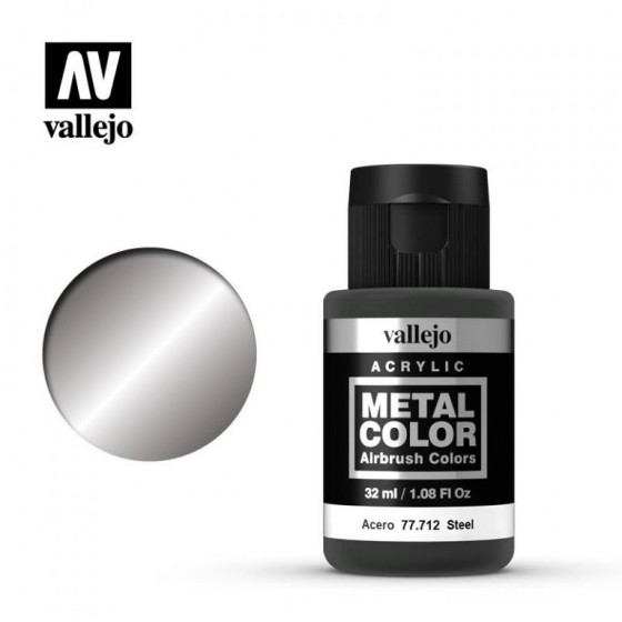 77.712 Steel Vallejo Metal Color