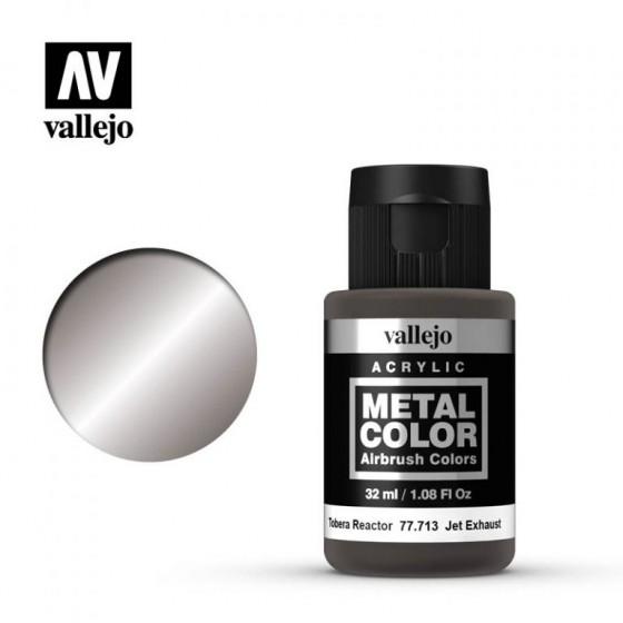 77.713 Jet Exhaust Vallejo Metal Color
