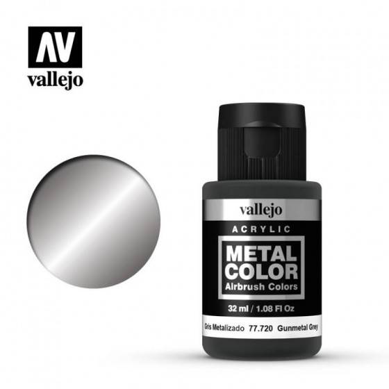 77.720 Gunmetal Grey Vallejo Metal Color