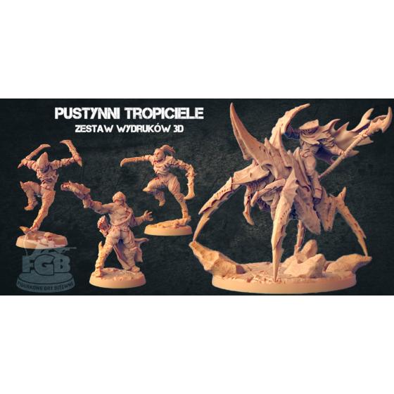 Pustynni Tropiciele (4 modele)