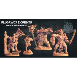Plugawcy z Orientu (4 modele)
