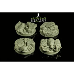 ALIENS 32MM ROUND BASES