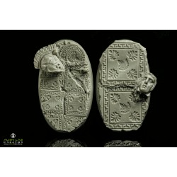 ANCIENT GREECE 90MM OVAL