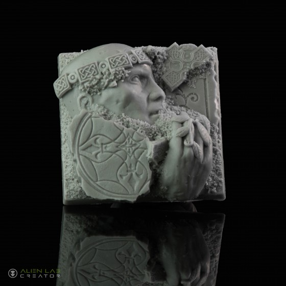 ANCIENT RUINS SQUARE BASES 50MM