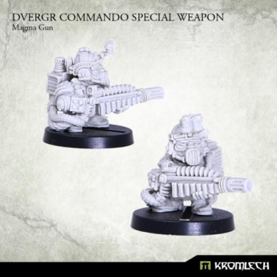 Dvergr Commando Special Weapon : Plasma Gun