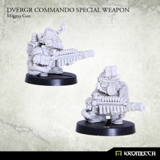 Dvergr Commando Special Weapon : Magma Gun