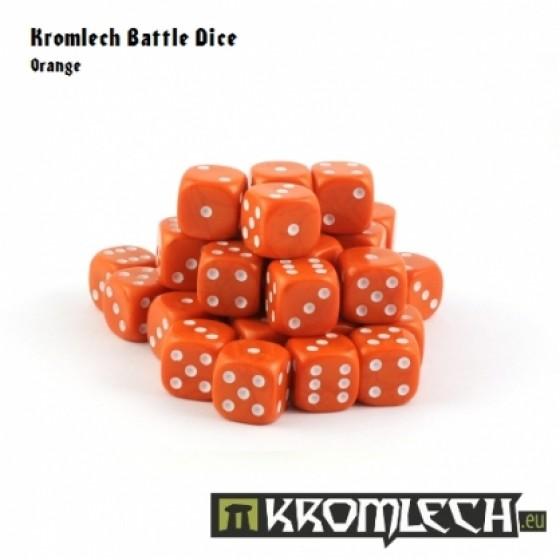 Kromlech Orange Battle Dice