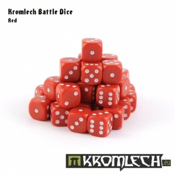 Kromlech Red Battle Dice