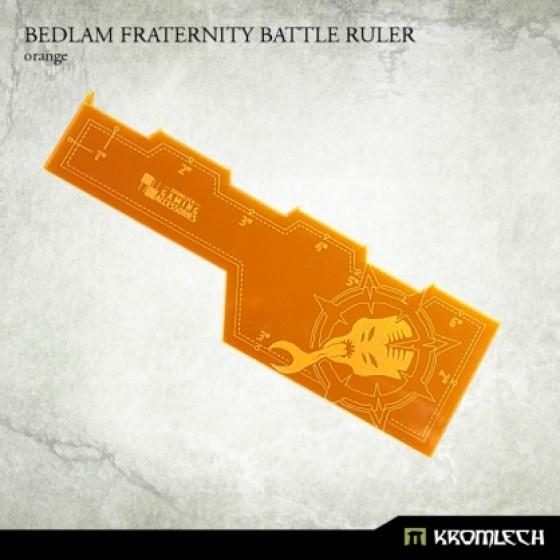 Bedlam Fraternity Battle Ruler [orange]