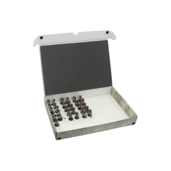 Pudełko Standardowe na modele ze zmagnesowanymi podstawkami