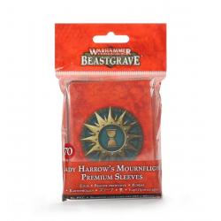 Lady Harrow's Mournflight Premium Sleeves