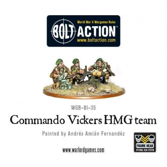 British Army Vickers MMG Team