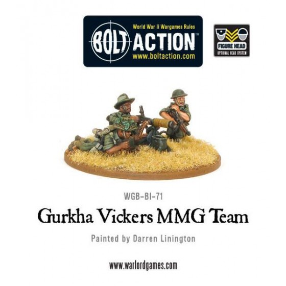 BEF Vickers MMG team