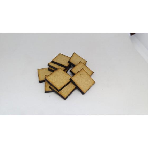 Podstawki pod modele kwadratowe 10 szt. 20mm