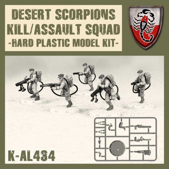 K-AL434 Desert scorpions kill/assault squad