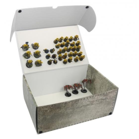 Mega pudełko na modele ze zmagnesowanymi podstawkami (2 płyty)