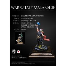 WARSZTATY MALARSKIE 21-22 SIERPNIA